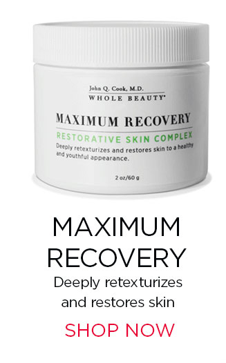 MAXIMUM RECOVERY. Deeply retexturizes 