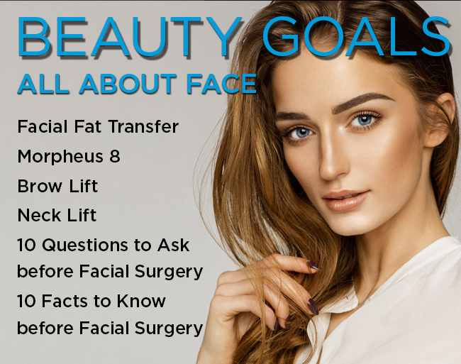 BeautyGoals - All About Face Facial Fat Transfer Morpheus 8 Brow Lift Neck Lift 10 Questions to Ask before Facial Surgery 10 Facts to Know before Facial Surgery
